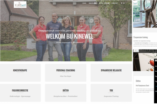 Kinewel - Website
