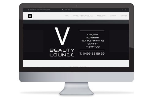 Website V Beauty Lounge